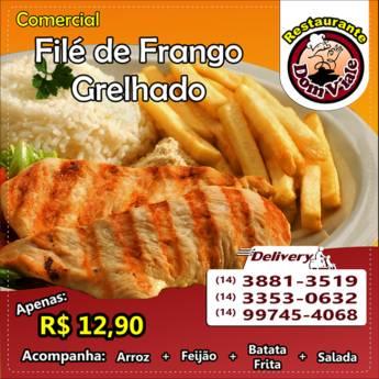 Comprar o produto de Comercial de Filé de Frango Grelhado em Marmitex em Botucatu, SP por Solutudo
