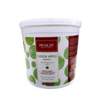 Comprar o produto de Mascara Hidratante Lavatório Green Apple Maça Verde Balde 3,2 kg em Condicionador em Araçatuba, SP por Solutudo