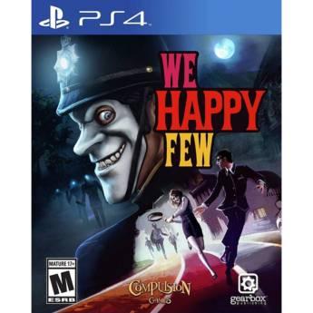 Comprar o produto de We Happy Few - PS4 em Jogos Novos pela empresa IT Computadores, Games Celulares em Tietê, SP por Solutudo