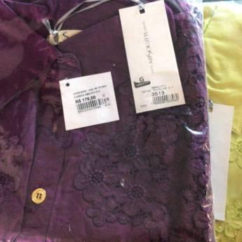 Comprar o produto de Camisa tricoline - Absolutti em Roupas e Acessórios pela empresa Loja Ego - Moda Feminina Multimarcas em Botucatu, SP por Solutudo
