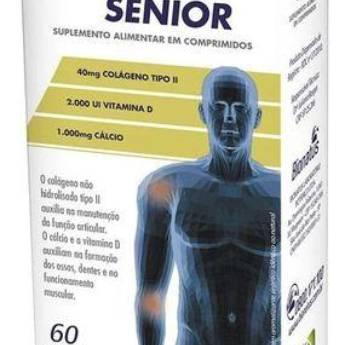 Comprar o produto de Colagen II Sênior - 60 comprimidos - Bionatus em Dor em Atibaia, SP por Solutudo