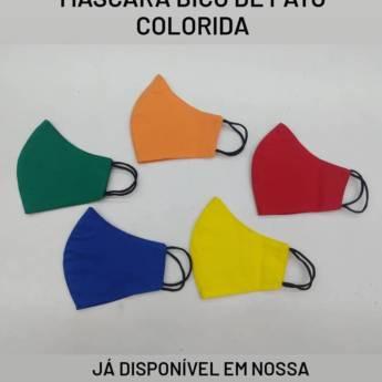 Comprar o produto de Máscara Bico de Pato  em Confecções de Roupas em Americana, SP por Solutudo