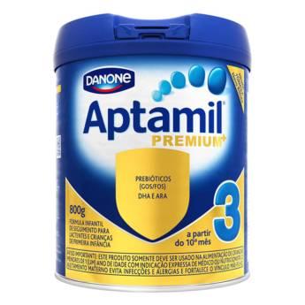 Comprar o produto de Aptamil Premium 3 800g em Leite Infantil em Foz do Iguaçu, PR por Solutudo
