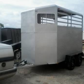 Comprar o produto de Carretinha Reboque Para 2 Cavalos em Carretas em Tietê, SP por Solutudo