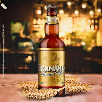 Comprar o produto de Cerveja Munich Helles em Cervejas em Atibaia, SP por Solutudo