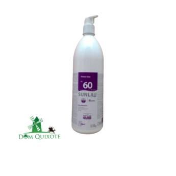 Comprar o produto de Protetor Solar Sunlau FPS 60 - 1L  em Cremes e protetor solar pela empresa Dom Quixote Equipamentos de Proteção Individual em Jundiaí, SP por Solutudo