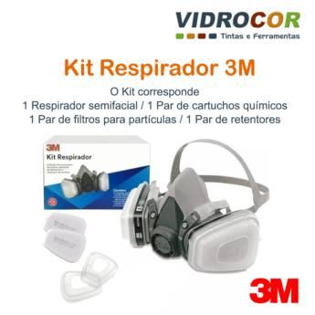 Comprar o produto de Máscara 3M - Loja de Tinta Botucatu Vidrocor em Pistolas de Pintura em Botucatu, SP por Solutudo