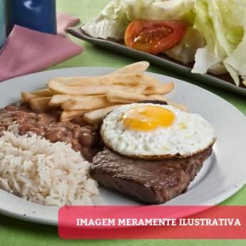 Comprar o produto de Contra Filé a Cavalo em Pratos Executivos em Atibaia, SP por Solutudo