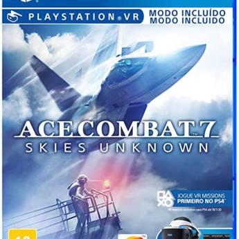 Comprar o produto de Ace Combat 7 Skies Unknown - PS4 (Usado) em Jogos Usados em Tietê, SP por Solutudo