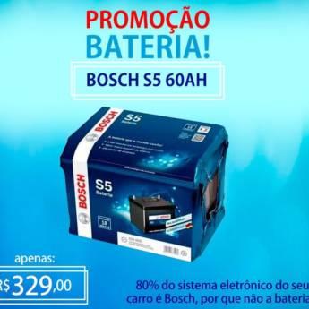 Comprar o produto de Bateria Bosch 60AH  em Baterias em Botucatu, SP por Solutudo