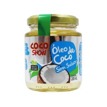 Comprar o produto de Óleo de Coco Show - 200ml - sem sabor - Copra em Suplementos Alimentares em Atibaia, SP por Solutudo