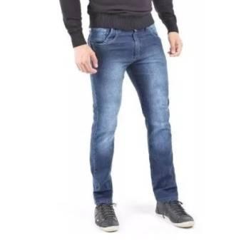 Comprar o produto de Calça Jeans Masculina em Moda Masculina pela empresa Lojas Conceito Confecções e Calçados - Vestindo e Calçando Toda a Família em Atibaia, SP por Solutudo