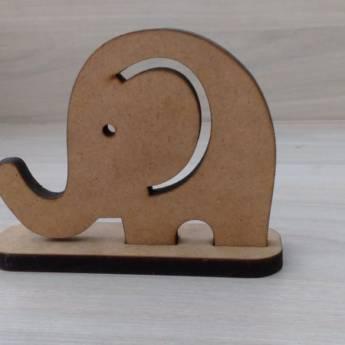 Comprar o produto de Elefante em MDF em Artesanato em Aracaju, SE por Solutudo