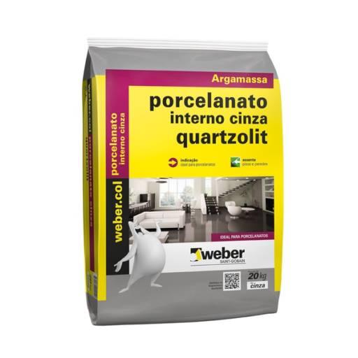 Comprar o produto de ARGAMASSA PORCENATO INTERNO QUARTZOLIT 20 KG em Outros pela empresa Maxcon Casa e Construção em Atibaia, SP por Solutudo