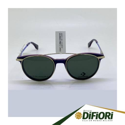 Comprar o produto de Óculos De Sol + Armação (Clip On) Converse VCO121 em Outros pela empresa Ótica Di Fiori em Jundiaí, SP por Solutudo