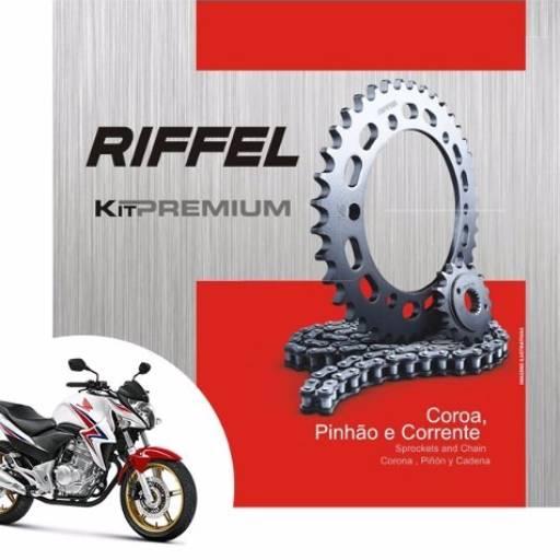 Comprar o produto de Relação Riffel Premium CB300 em Pinhões pela empresa Couto Motos Racing em Botucatu, SP por Solutudo