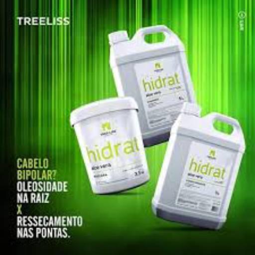 MASCARA HIDRAT ALOE VERA BALDE 3,500 KG da TREE LISS por Maryton Cosméticos e Acessórios