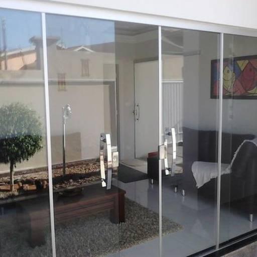 Portas de Vidro por Vidraçaria 3D