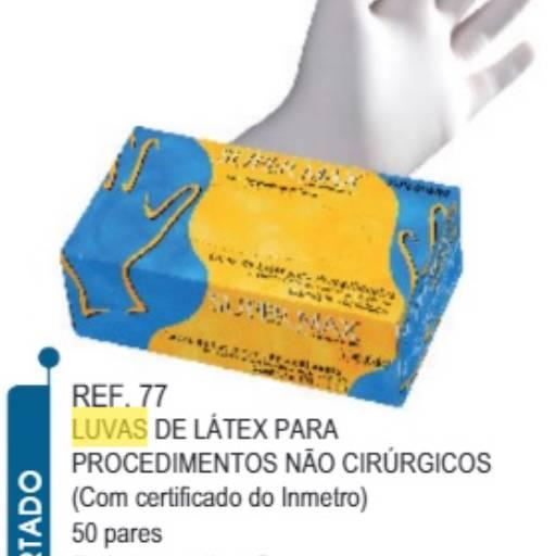 LUVA SUPERMAX EM LATEX  C/ PÓ CX C/ 100 UND.  PROCEDIMENTOS NÃO CIRURGICOS em Araçatuba, SP por Maryton Cosméticos e Distribuição Multimarca
