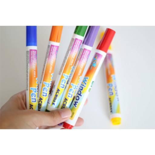 Comprar o produto de Window Pen Acrilex em Canetas, Lápis e Afins pela empresa Eloy Festas em Jundiaí, SP por Solutudo
