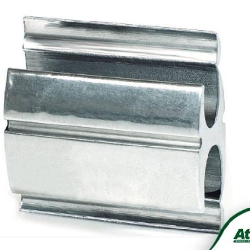 Comprar o produto de Conector a Compressão de Alumínio Tipo - H em Fios e Cabos pela empresa Atilux Materiais Elétricos e Iluminação em Atibaia, SP por Solutudo