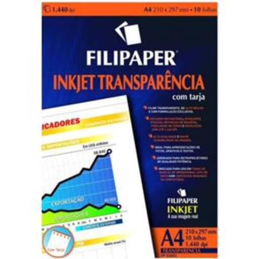 Comprar o produto de Transparencia Filipaper  em Cadernos e Papéis pela empresa Eloy Festas em Jundiaí, SP por Solutudo