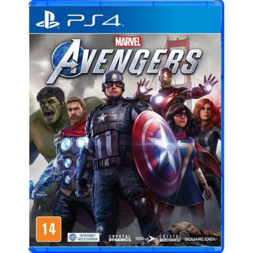 Marvel Avengers - PS4 em Tietê, SP por IT Computadores e Games