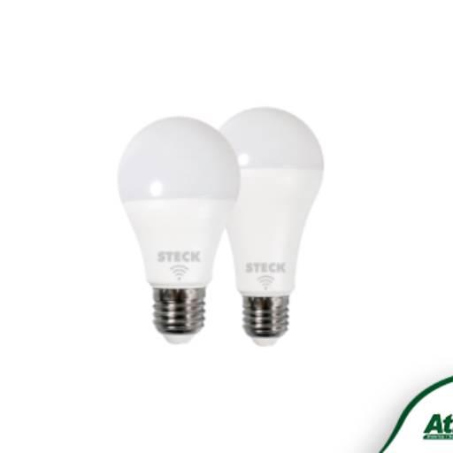 Comprar o produto de Lâmpadas Inteligentes Smarteck® em Interruptores e Tomadas Residenciais pela empresa Atilux Materiais Elétricos e Iluminação em Atibaia, SP por Solutudo