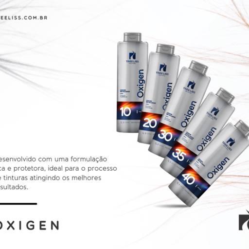 Creme Revelador 30 Volumes OXIGEN da TREE LISS 1 litro por Maryton Cosméticos e Acessórios