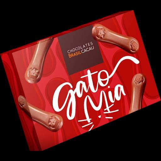 Comprar o produto de Gato Mia 70g em Sobremesas pela empresa Chocolates Brasil Cacau Botucatu em Botucatu, SP por Solutudo