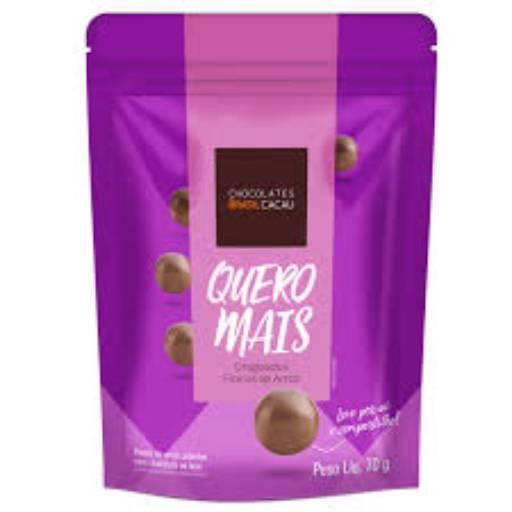 Comprar o produto de Quero Mais Drageados de Flocos de Arroz 70g em Sobremesas pela empresa Chocolates Brasil Cacau Botucatu em Botucatu, SP por Solutudo