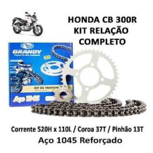 Comprar o produto de Relação Brandy CB 300R em Pinhões pela empresa Couto Motos Racing em Botucatu, SP por Solutudo