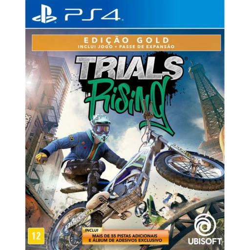 Trials Rising: Gold Edition - PS4 por IT Computadores, Games Celulares