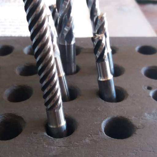 Afiação de fresa hss e metal duro por Rofer Comércio e Afiação de Ferramentas