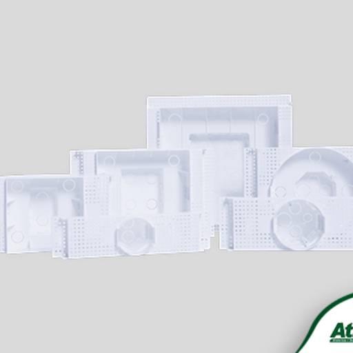 Comprar o produto de Caixas para Embutir Painel de LED em Caixas e Quadros pela empresa Atilux Materiais Elétricos e Iluminação em Atibaia, SP por Solutudo