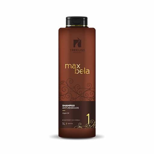 Shampoo Anti-Resíduos Max Bela 1 litro da Tree Liss por Maryton Cosméticos e Acessórios