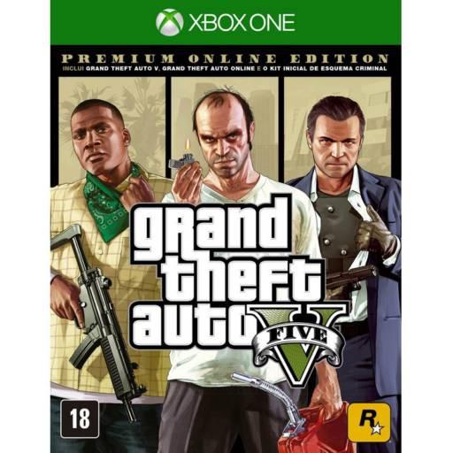 Grand Theft Auto V Premium Online Edition - XBOX ONE em Tietê, SP por IT Computadores e Games