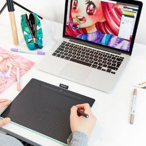 Mesa Digitalizadora Intuos Pequena CLT4100 Wacom  por Nksec Segurança e Tecnologia