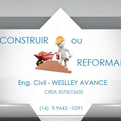 Execução e Gerenciamento de Obra e/ou Reforma em Botucatu, SP por  Weslley Avance