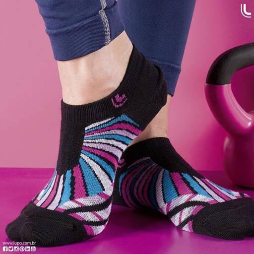 Comprar o produto de Meias Lupo em Feminino pela empresa Lojas Conceito Confecções e Calçados - Vestindo e Calçando Toda a Família em Atibaia, SP por Solutudo