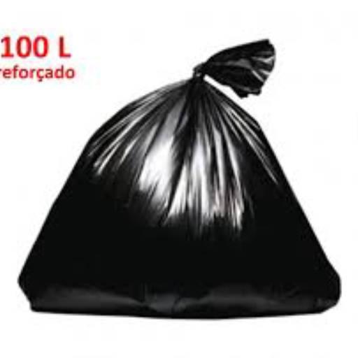 Comprar o produto de Saco para lixo 100l reforçado kg em Outros pela empresa TRESKOS em Botucatu, SP por Solutudo
