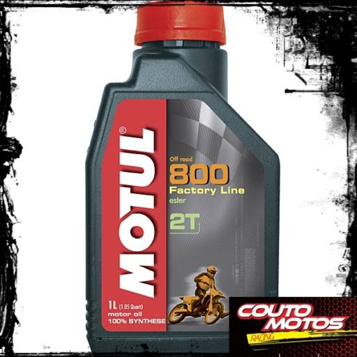 Comprar o produto de ÓLEO MOTUL 800 2TEMPOS OFF ROAD em Óleos pela empresa Couto Motos Racing em Botucatu, SP por Solutudo