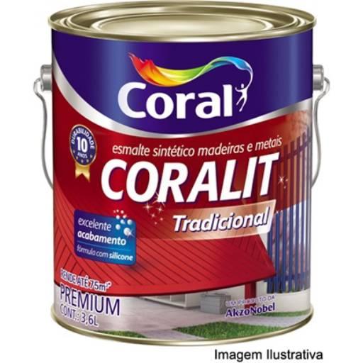 Comprar o produto de ESMALTE CORALIT GL em Material Básico pela empresa Maxcon Casa e Construção em Atibaia, SP por Solutudo