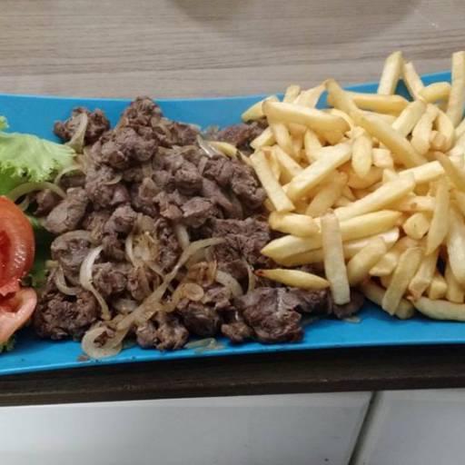 Porção Filé com Fritas por Marilza Lanches