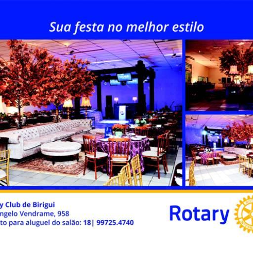 Salão de Festa por Rotary Club Birigui