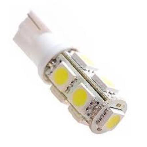 Comprar o produto de LED ESMAGADA GRANDE C/ 9 LEDS BRANCO 12V (TORRE) em A Classificar pela empresa Dispel Peças & Auto Elétrica  em Botucatu, SP por Solutudo