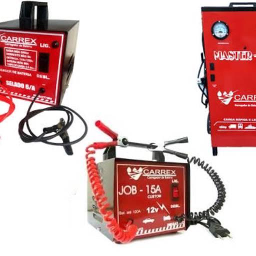 Carregadores de baterias de 06 a 50 amperes  por Casa dos Parafusos - Saudades