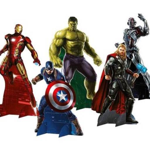 Festas - Decoração - Tema Vingadores !!! por Eloy Festas