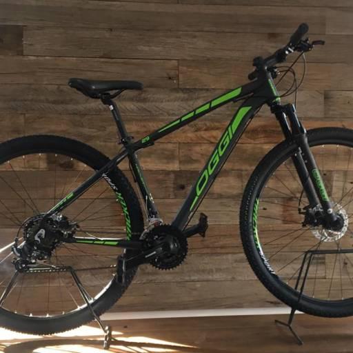 Comprar o produto de Nova OGGI HACKER 2018 em Bicicletas Adultos pela empresa Bicicletaria Dabreu em Tietê, SP por Solutudo