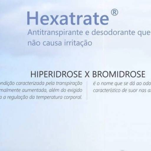 Desodorante Anti Alérgico - Hexatrate por Alquifarma Farmácia de Manipulação